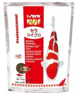 Spirulina 2.2 KG SERA KOI Professional aliment composé spécial couleurs