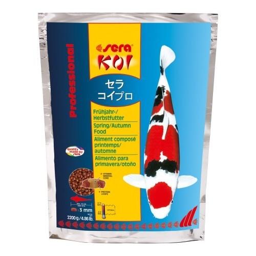 printemps/automne 2.2kg SERA KOI Professional aliment composé