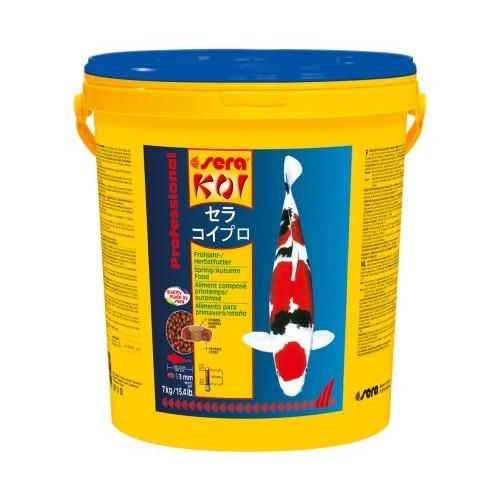printemps/automne 7kg SERA KOI Professional aliment composé