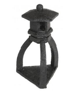 Pagoda noir déco bassin zen