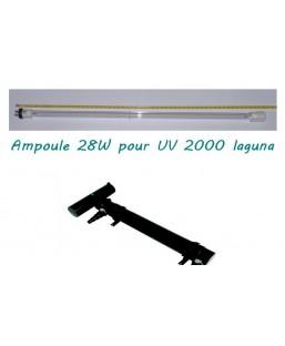 Ampoule UV 2000 laguna 28W