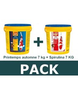 Pack P/A 7kg - spirulina 7kg