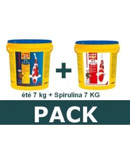 Pack été 7kg - spirulina 7kg