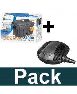 Pack pondclear 24000+ pond eco plus E 10000