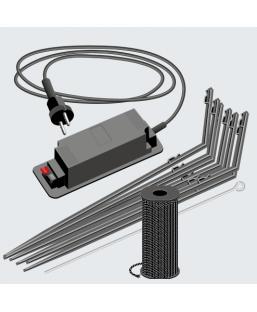 Protection fil électrifié 500M