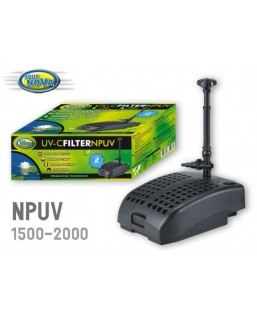 Pompe filtrante NPUV2000 9W aqua Nova (2000 L/H)