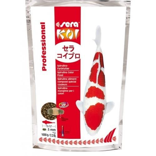 Spirulina 1 KG SERA KOI Professional aliment composé spécial couleurs