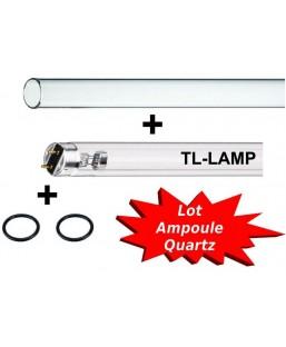 Set TL 55W (quartz + Ampoule)
