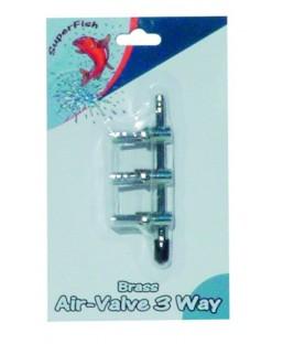 Répartiteur 3 voies en inox