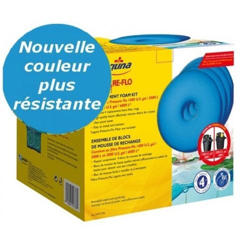 Mousses 5000 ou 6000 pressure flo