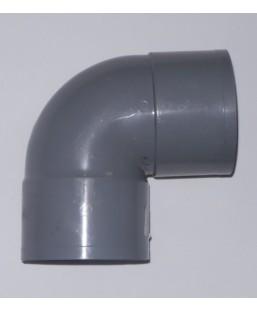 Coude FF 110mm gris à coller