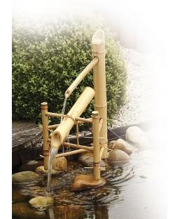 Jeu d'eau Basculant en bambou