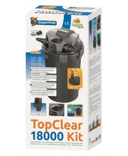 SuperFish TOPCLEAR KIT 18000 UVC18W