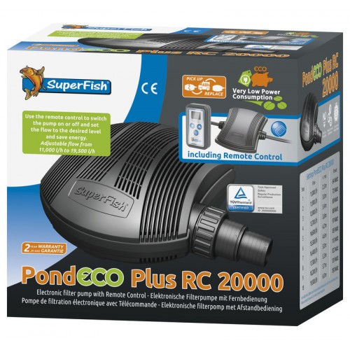 POND ECO PLUS RC 20000 VARIATEUR (11000 à 19500 L/H)