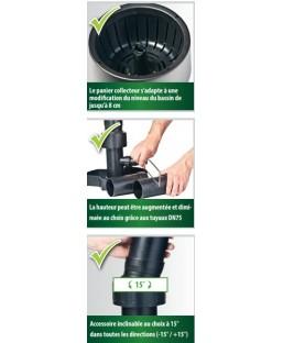 skimmer de surface pro heissner heissner f550 00 skimmer surface du. Black Bedroom Furniture Sets. Home Design Ideas
