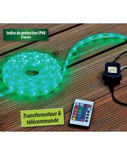BANDE LED RGB 5M +TELECOMMANDE