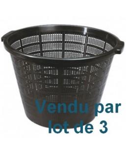 LOT DE 3 PANIERS diamètre 40 cm