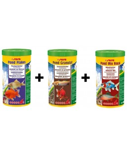pack 3L Flakes-Granulat-Mix Royal