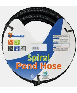 Tuyau souple 40 mm spirale 5 m SuperFish
