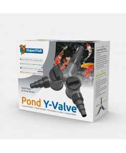 Pond Y-Valve 25,32,40 mm
