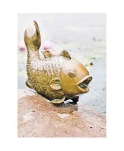 "Gargouille ""Fish"" 43 cm HEISSNER"