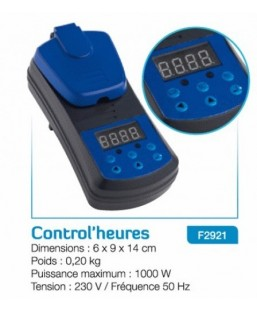 Control'heure pour UV