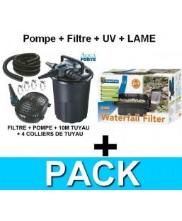 Kit filtre lame d'eau 6000