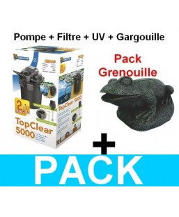 Kit filtration Grenouille