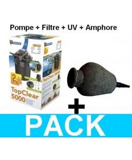 Kit filtration amphora