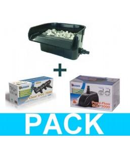 Kit filtre lame d'eau 3000