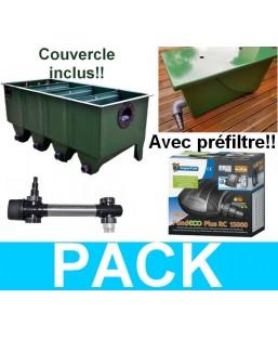 Pack PRO PREFILTRE/ Edouna 4/ 18000L
