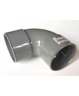 Coude PVC 75 mm 90 degrés