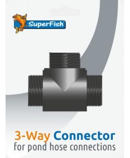 POND 3 SORTIES CONNECTEUR BLISTER 1 PC