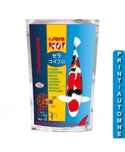 printemps/automne 500g SERA KOI Professional aliment composé