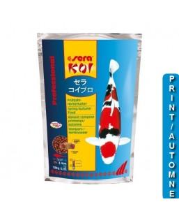 printemps/automne 1 kg SERA KOI Professional aliment composé