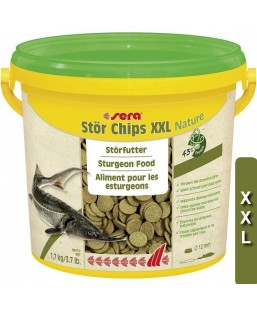 SERA esturgeons chips XXL 3.8L (1.7kg)