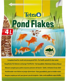 TETRA POND FLAKES 4L PLUS 25%