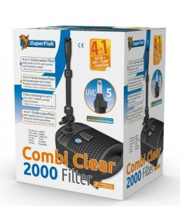 FILTRE COMBI CLEAR 2000- UV 5W - POMPE 1050 L/H