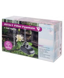 Filter Fountain tout en 1 avec éclairage