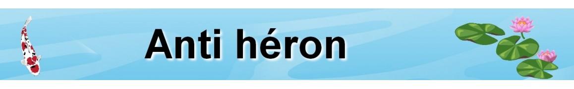 Anti héron pour bassin extérieur ou étang