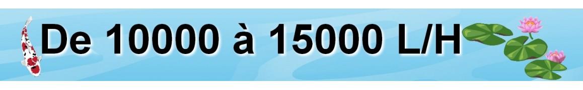 pompe de bassin de jardin de 10000 à 15000 L/H