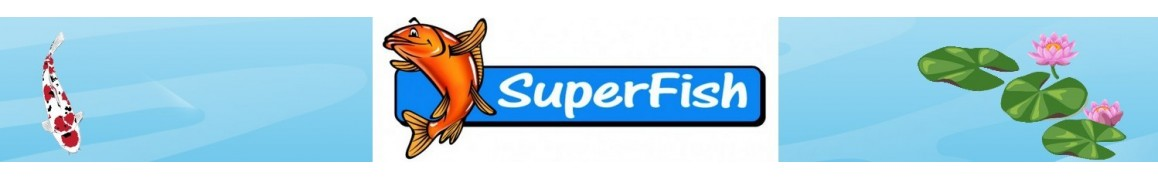 Pompe Superfish bassin de jardin