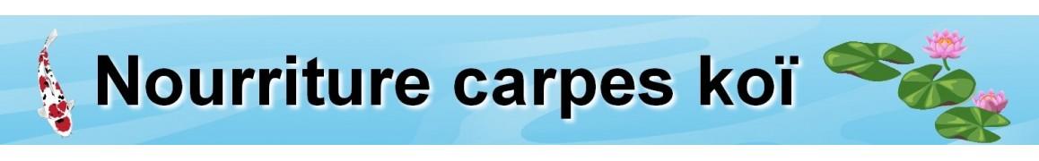 Nourriture carpes ko for Nourriture carpe koi