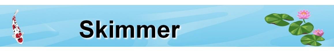Skimmer pour bassin de jardin, skimmer de surface