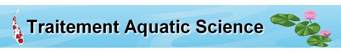traitements aquatic science pour bassin de jardin