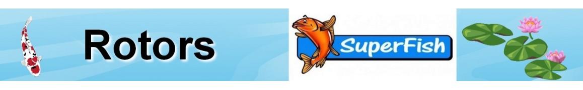 Rotors pour les pompes Superfish, pompe de basin de jardin