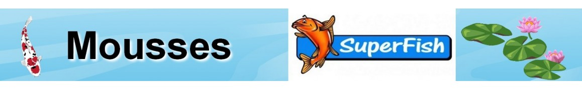 Mousses superfish pour filtre topclear 5000,10000,15000