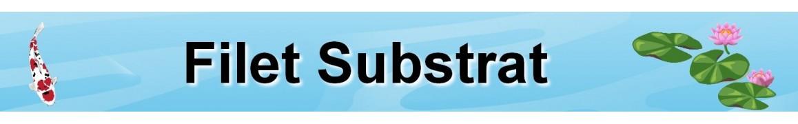 Filet substrat pour filtration biologique pour bassin