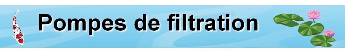 pompe de bassin de jardin, pompe filtration