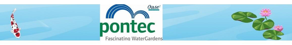Découvrez les pompes de bassin de jardin de marque PONTEC
